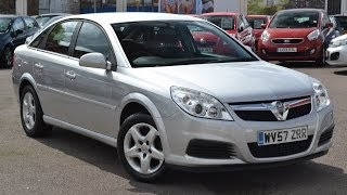 Used Car | Vauxhall Vectra Exclusiv | Silver | WV57ZRR | Wessex Garages | Feeder Road | Bristol