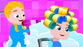 PRINCESS NEW HAIR STYLE ❤ Lustige Cartoons Für Kinder