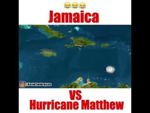 hurricane Mathew vs Jamaica