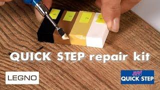 Реставрационный набор Quick Step repair kit (инструкция)