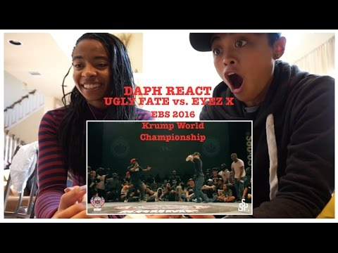 DAPH REACT (ft. Bree): UGLY FATE vs EYEZ X || EBS 2016 ...