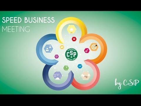 Speed Business Meeting CSP