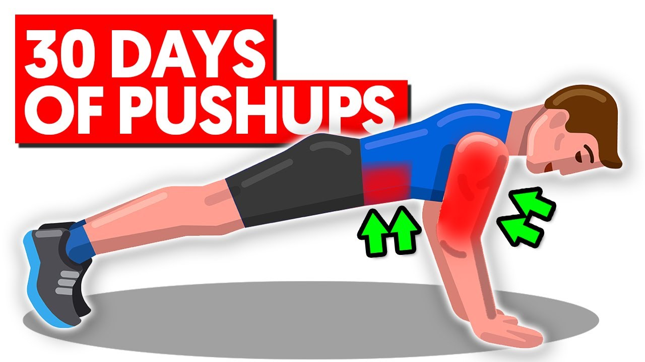 30 Days of Pushups Will Do This To Your Body