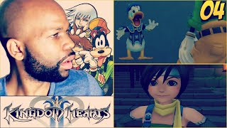 Kingdom Hearts Gameplay Walkthrough Part 4 - Leon | Take out the Leader (Proud Mode)