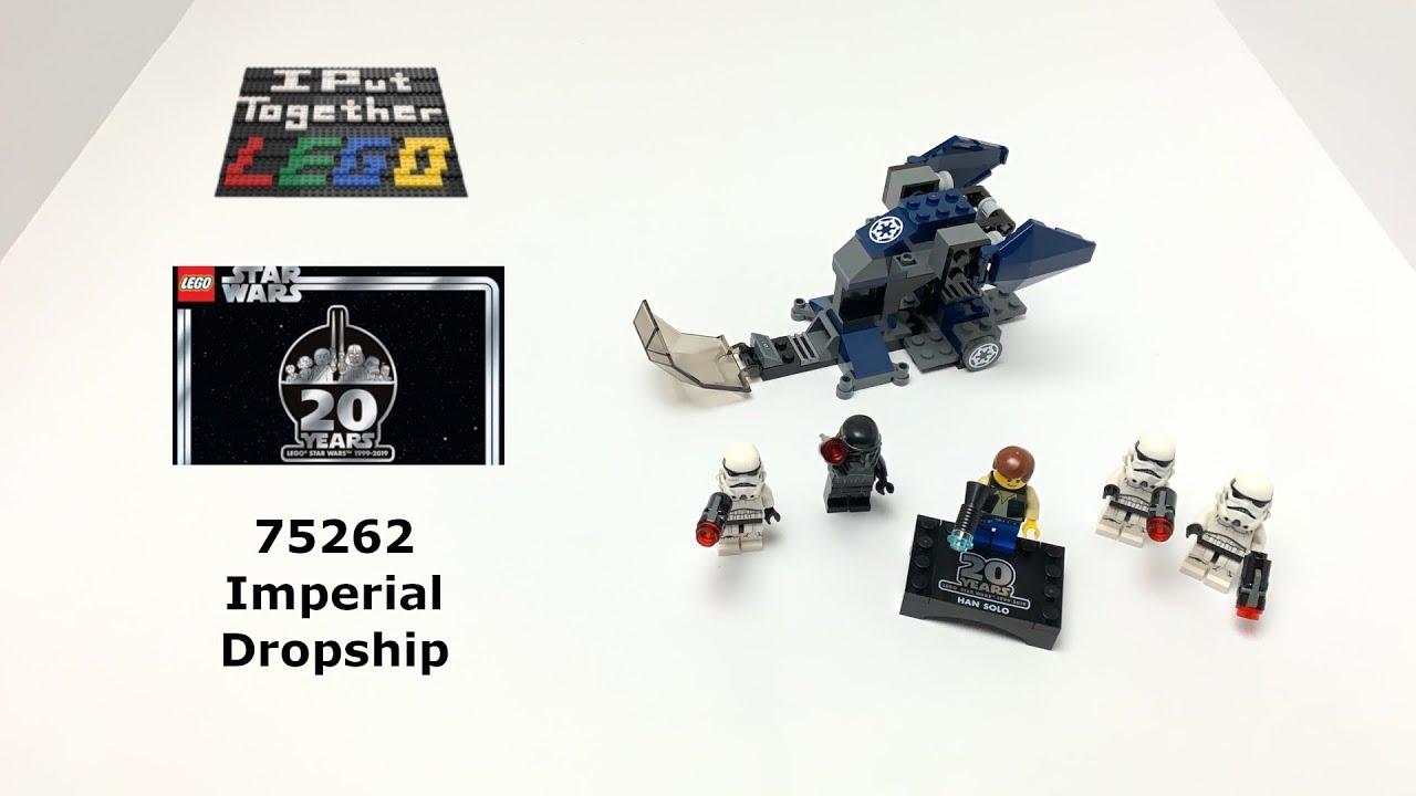 Stud Blaster NEW Authentic Star Wars 75262 Minifigure LEGO Shadowtrooper 5x