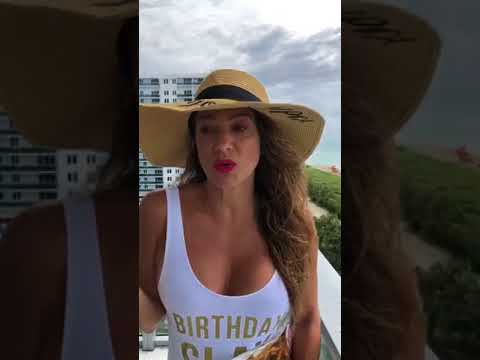 BIRTHDAY SLAY! Jennifer Nicole Lee Gives You a Tour Of Her W Hotel South Beach Ocean Front Suite