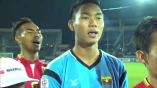 AFF Suzuki Cup semi-finalist: Myanmar