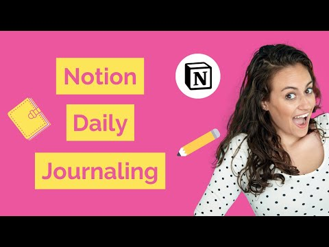 Inside My Notion Daily Journal