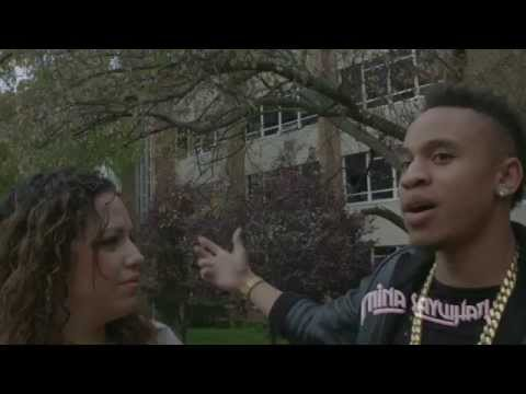 Rotimi & Mina SayWhat Visit His Old High School And Home In New Jersey