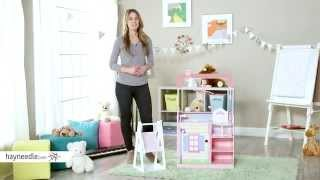 Teamson Design Double Sided Infant Play Nursery/bath - Product Review Video