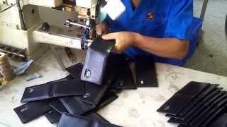 Производство кожаных ключниц, портмоне, салфетниц в Китае 1.