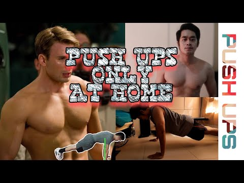 BEST HOME CHEST WORKOUT FOR BEGINNERS (NO EQUIPMENT NEEDED) | PUSH-UPS ONLY