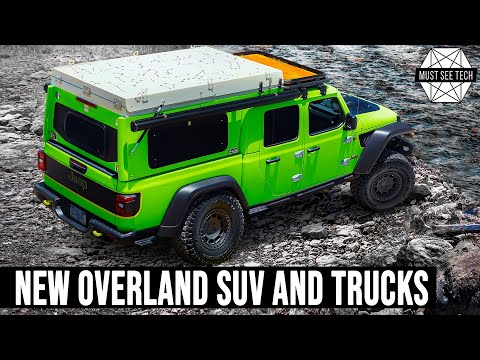 Top 9 Newest Overland SUVs and Off-Road Pickups of 2021