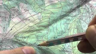 Karte und Kompass - Koordinaten bestimmen