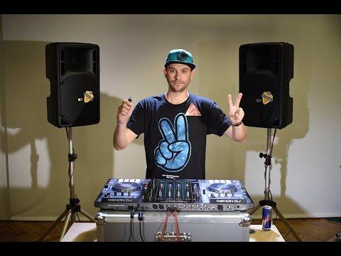 Denon DJ MCX8000 performance by DJ Friky