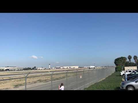 Hawaiian Airlines Inaugural Flight from Long Beach, CA to  Honolulu, HI