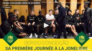 Les premiers pas de Sergio Conceição au FC Nantes