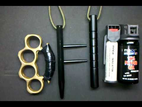 EDC Non Lethal options for self defense - YouTube