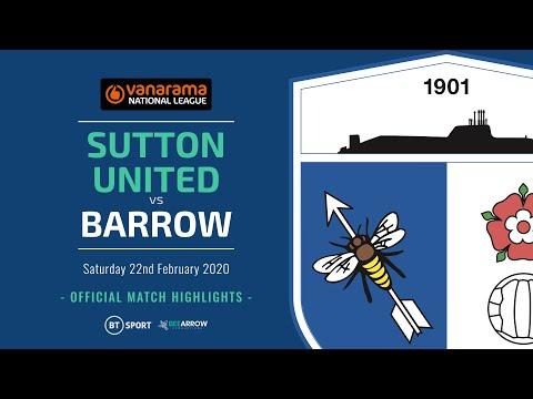 Sutton Barrow Goals And Highlights