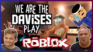 We Almost Robbed A Bank | Roblox Jailbreak EP-1 Revised | We Are The Davises Gaming