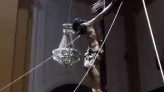 Subida al paso del Cristo de la Salud 2018 Hdad de San Bernardo Sevilla