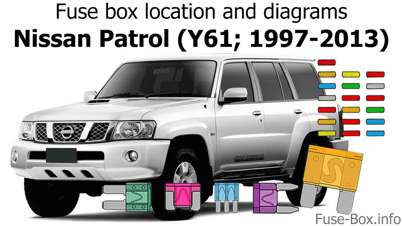 fuse box location and diagrams: nissan patrol (1997-2013)