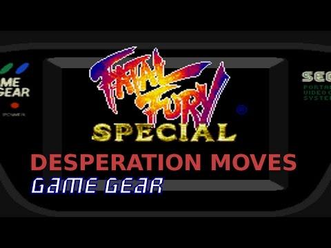 [SEGA Game Gear] Fatal Fury Special - Movimientos desesperados (con comandos) |