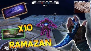 Gece GİrİŞ Mapi !! Ramazan Kutusu X10 - Karambit Gece Mavisi  Gece Pençe Ve Dövm