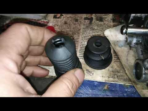 Fiat Grande Punto пыльник штока сцепления на роботе один из вариантов колхоза, замена манжет