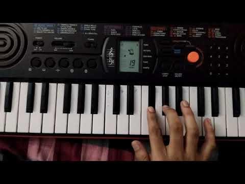 'Andala thaara arudinche naakai' christmas song[telugu] on keyboard