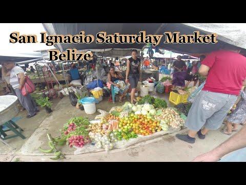 San Ignacio, Saturday market, Belize (HD)