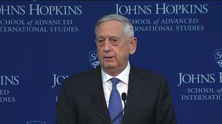 Mattis: Countering China, Russia Top Priorities