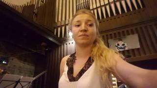 Panie dobry jak chleb & Ave Maria Gratia Plena - Anna Wojtas (akom. skrzypce & organy)