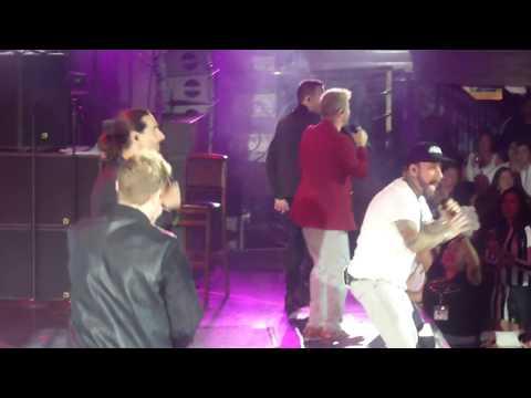 Backstreet Boys Cruise 2018- Storytellers Concert: Hey Mr DJ