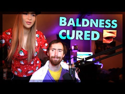 It is DONE! Asmongold's Girlfriend Finishes His Haircut (Part 2)