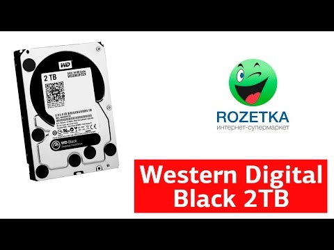 Жесткий диск Western Digital Black 2TB 7200rpm 64MB WD2003FZEX 3.5 SATA III