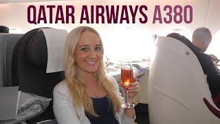 qatar airways a380 business class and first class