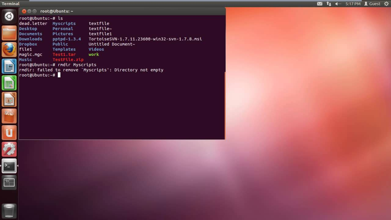 How to Use Delete Command in Unix - YouTube