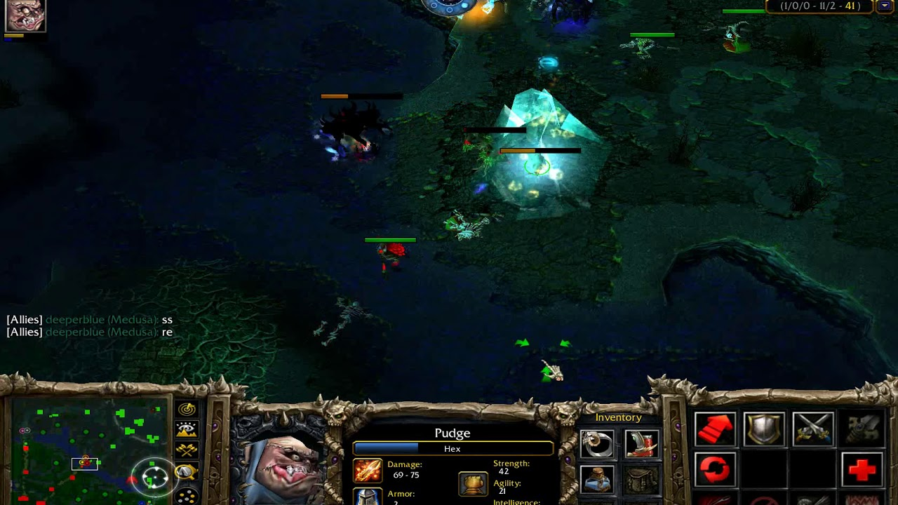 Warcraft 3 Defense Of The Ancients Dota Pudge Bestmurlocplay
