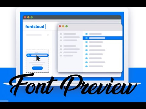Preview All Your Fonts Using A Simple Tool!