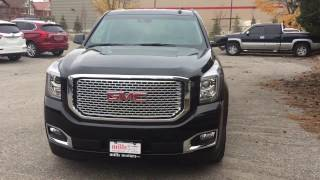 2017 GMC Yukon Denali 4WD Head Up Display Black Oshawa ON Stock #170209