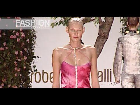 ROBERTO CAVALLI Spring Summer 2000 Milan - Fashion Channel