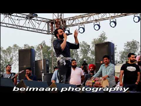babbu maan live punjabi university patiala full hd show