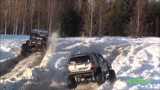 XKAG Films - Snow Drag 2013 / Les Routiers 4x4 / Thetford Mines