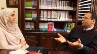 تعريف عن الشهادات المهنية مع  أ.د حسام  خداش بمركز صرح للتدريب