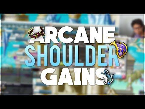 arcane shoulder gains