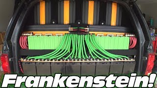 NEW BRAKES & Car Audio UPDATES w/ Frankenstein's 30,000 Watt Subwoofer Sound System INSTALL