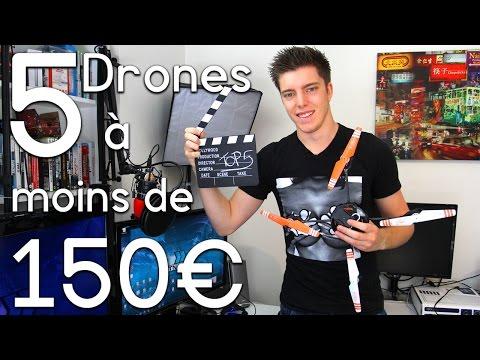 5 Drones Radiocommandés à moins de 150€ !