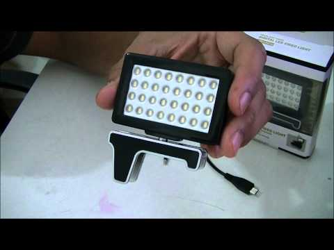 PONTADODEDO - Quick Video - 32 Led Light Flash for phone mobile tablet illumination Plug 3.5mm