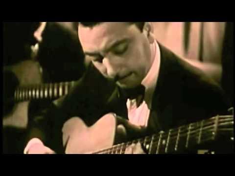 Django Reinhardt CLIP performing live (1945)
